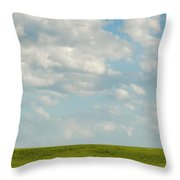 Lone Trees Throw Pillow