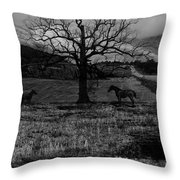 Lonely No More Throw Pillow