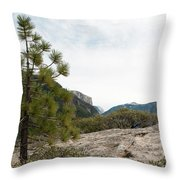 Lonely Pine Throw Pillow