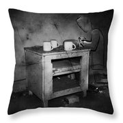Lonely Prayers  Throw Pillow