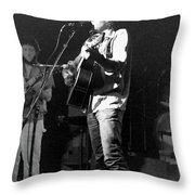 Lonesome L.a. Cowboy Throw Pillow