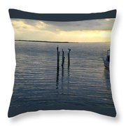 Lonesome Sea Throw Pillow