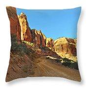 Long Canyon 1 Throw Pillow