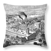 Long Island: Factory Throw Pillow