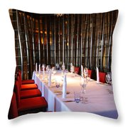 Long Table Throw Pillow by Atiketta Sangasaeng