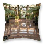 Longwood Gardens Throw Pillow