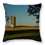 Lonly Silo 5 Throw Pillow