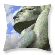 Look To The Sky - L Throw Pillow