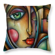 Look Two Throw Pillow