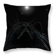 Look Up In The Sky - I Hope Its A Bird Throw Pillow