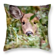 Look What I Found In My Garden Throw Pillow