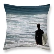 Looking For The Big One Throw Pillow