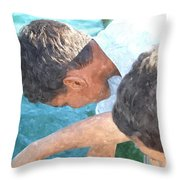 Looking For Treasures Ltwc Throw Pillow