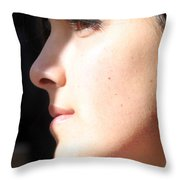 Looking Forward To Christmas Throw Pillow
