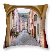 Looking Through Graach Gate - Colour Throw Pillow