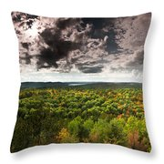 Lookout Trail Throw Pillow