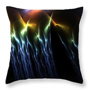 Looks Like Rain Throw Pillow