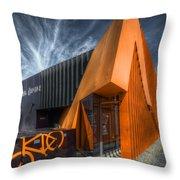 L'orange Facade Throw Pillow