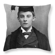 Lord Alfred Bruce Douglas Throw Pillow