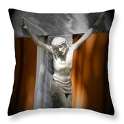 Lord Forgive Them II Throw Pillow