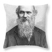 Lord Kelvin (1824-1907) Throw Pillow