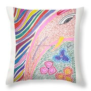 Lord Of Beginning Throw Pillow