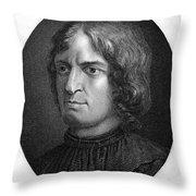 Lorenzo De Medici Throw Pillow