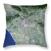 Los Angeles, California Throw Pillow