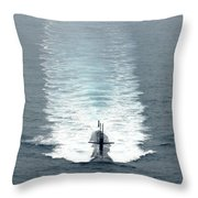 Los Angeles-class Fast Attack Submarine Throw Pillow