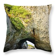 Los Arcos Park In Mexico Throw Pillow