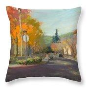 Los Atos Fall Colors Throw Pillow