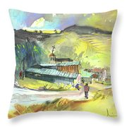 Los Olmos De Penafiel In Spain 01 Throw Pillow
