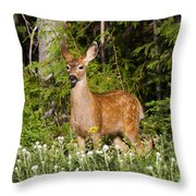 Losing The Spots Throw Pillow