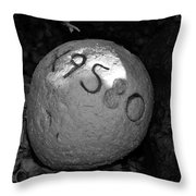 Lost Buoy Throw Pillow