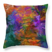 Lost In October Throw Pillow