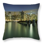 Lost In Yesterday Throw Pillow by Evelina Kremsdorf