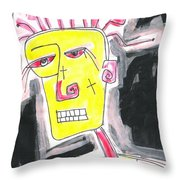 Lost Soul 1 Throw Pillow