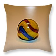 Lost Your Marble Throw Pillow