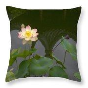 Lotus 2 Throw Pillow