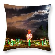 Lotus Ponds Throw Pillow