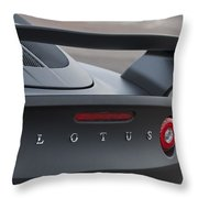 Lotus Taillights Throw Pillow
