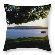 Lough Arrow, Co Sligo, Ireland Lake In Throw Pillow