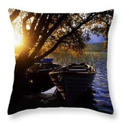Lough Arrow, Co Sligo, Ireland Lake Throw Pillow