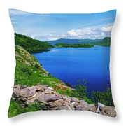 Lough Caragh, Co Kerry, Ireland Throw Pillow