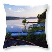 Lough Erne, County Fermanagh, Ireland Throw Pillow