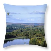 Lough Key Forest And Activity Park Throw Pillow