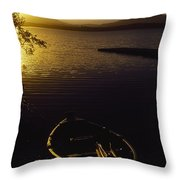 Lough Leane, Lakes Of Killarney Throw Pillow
