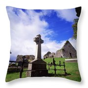 Loughinisland, Co. Down, Ireland Throw Pillow