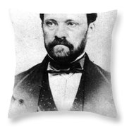 Louis Pasteur, French Chemist Throw Pillow
