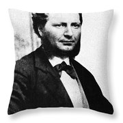 Louis Riel Throw Pillow